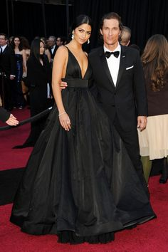Mathew McConaughey and beautiful wife
