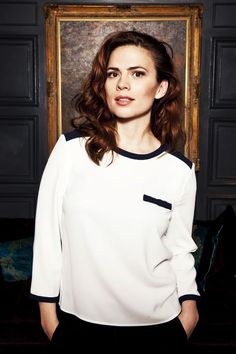 "(FC: Hayley Atwell) ""I am Lila Carter. I am dating Steve Rogers. Umm well I am going for the operations division. I'm an inhuman. I focus on friends and work. Hayley Atwell, Hayley Elizabeth Atwell, Peggy Carter, Hailey Baldwin, Stan Lee, British Actresses, Actors & Actresses, Haley Lu Richardson, Woman Crush"