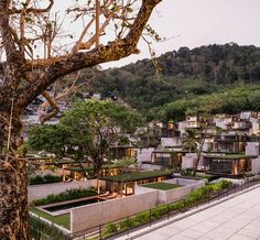 matchbox villas protrude from thai mountainside at naka phuket resort Phuket Resorts, Beach Resorts, Hotels And Resorts, Marriott Hotels, Beach Hotels, Hotel Design Architecture, Resort Villa, Bali, Mountain Resort