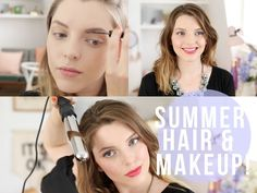 Summer Makeup & Hair! #SUMMERTRILOGY | essiebutton