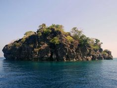 South Button Island National Park in Andaman and Nicobar, India