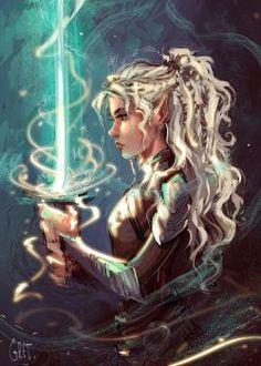 Elf of light by Gretlusky