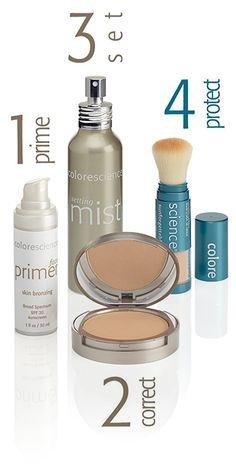 Colorescience: de meest luxe, minerale make-up lijn, echt prachtige producten, love it!