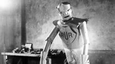 Image copyright                  Keystone-France/Getty Images                  Image caption                     Eric the robot was an early example of humanoid machines   London's Science Museum has launched a Kickstarter campaign to fund the rebuilding of one of the first robots. Eric, as it was called, was originally built in 1928, and was the UK's first humanoid robot, impressing audiences with his movement and speech. He travelled the globe