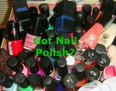 GOT NAIL POLISH?? Check out my latest invention...The Polish Parlor