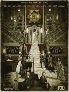 American Horror Story: Hotel | Confira o novo pôster | Série Maníacos