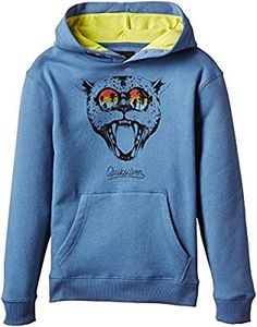 1a3db796 Quiksilver Boy's Sunset Cat Hoodie, Federal Blue, 10 Years (Manufacturer  Size: Small): DC Shoes: Amazon.co.uk: Sports & Outdoors