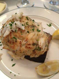 Galatoire's Restaurant - New Orleans, LA, United States. Crab stuffed eggplant