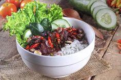 rice bowl menu - Penelusuran Google Rice Bowls, Cabbage, Menu, Women's Fashion, Vegetables, Google, Food, Menu Board Design, Essen