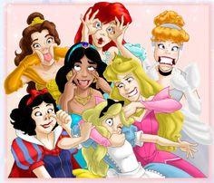 princesses-grimace