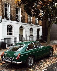 Fall in London.