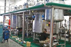 EPIC builds process plant for a new deodorant formula!