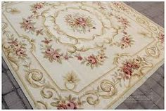 .. SQUARE aubusson rug 7'x7' --- full lined ile ilgili görsel sonucu