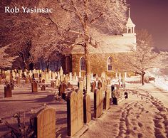 Graveyard at Dutch Reformed Church of Sleepy Hollow, NY-Where some of my ancestors are buried