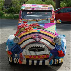 Yarn bombing would love to drive this around