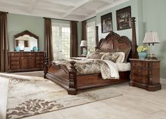 ashley furniture north shore poster bedroom set Google Search