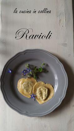 la cucina in collina:  Ravioli fatti in casa con ricotta di pecorae bor...