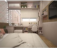 girls bedroom ideas 9 years old, kids bedroom ideas colors . girls bedroom ideas 9 years old, kids bedroom ideas colors This idea is als Small Room Bedroom, Bedroom Interior, Bedroom Design, Home Room Design, House, Cute Room Decor, Home Decor, Small Bedroom, Room Ideas Bedroom