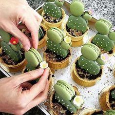 Cactus Macarons! By umawadee_sriwarom