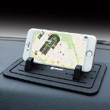 IPOW New Silicone Pad Dash Mat Cell Phone Car Mount Holder Cradle Dock For Phone Samsung S5/S4/S3/iPhone 4/5/5s/6/6S(plus) and GPSBlackTable PC Holder Reviews
