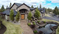 Luxury Bend, Oregon estate nestled on the 'edge' of town on 2.5 acres. Absolutely gorgeous home with all you'd expect in a luxury 6000+ sf retreat, including: chefs kitchen, theater room, sauna, unique accents, art niches, and designer lighting,  And so much more!   20975 Royal Oak Circle, Bend OR 97701  #RealEstate #BendOregon    || Fred Real Estate Group - info@fredrealestate.com - online @ BuyAHomeInBend.com  ||
