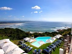 The Plettenberg Hotel - The Plettenberg Hotel is a 5 Star Relais Chateaux Hotel built on a rocky headland with breathtaking vistas of the sea, mountains and miles of golden sand. It is located in one of the most spectacular resorts ... #weekendgetaways #plettenbergbay #southafrica