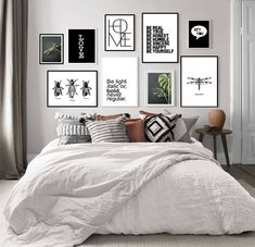 Funny Videos, Gallery Wall, New Homes, Architecture, Wallpaper, Design, Home Decor, Bedroom Frames, Couple Room