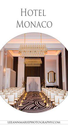 Hotel Monaco Wedding Reception Photography by Leeann Marie, Wedding Photographers: http://www.leeannmariephotography.com