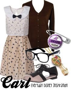 """""""Carl from Up"""" by everydayinspiration1392 ❤ liked on Polyvore"""