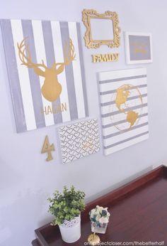 Diy Gallery Wall Art idea