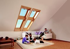 Designo R7 roof windows by Roto Roofing.    The superior roof window.