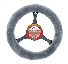 Imagine those cold winter days when you have to get in your car and wait for it to warm up. Now with a Sheepskin steering wheel cover your hands can stay warm while you wait for the rest of your car to catch up! Available for any type of vehicle you may drive! Learn more at; http://bit.ly/JOOLir