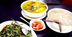 Papeda, traditional food