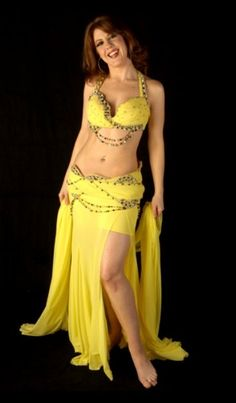 60 best Yellow Belly Dance Costumes images on Pinterest ...