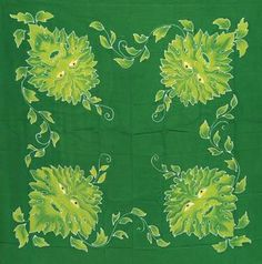 Check out our latest product Green Man  Altar ... it just came in stock here: http://simplywiccan.com/products/green-man-altar-cloth-or-scarve-36-x-36?utm_campaign=social_autopilot&utm_source=pin&utm_medium=pin