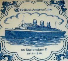 Trasatlántico Statendam II 1917-1918, Holanda 1