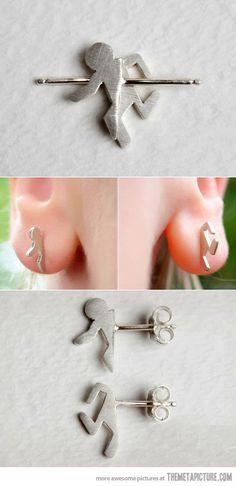 portal earrings!!