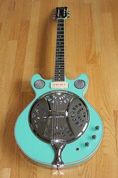 Delta-6 - Seafoam Green - Eastwood Guitars, INC