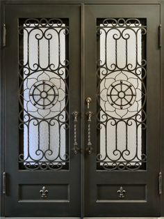 Entry Doors, Entrance, Front Gates, Wrought Iron Gates, Shutter Doors, Iron Doors, Doorway, Shutters, Envy