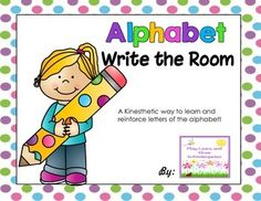 """Write the room activities are a fun and kinesthetic way  """"Hide"""" the letters of the alphabet around the room.  S can then take a clipboard, marker and recording sheet  .jan,15"""