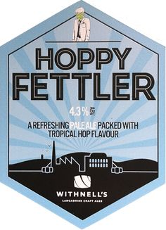 Hoppy Fettler British Beer, Beer Mats, Trays, Ale, Alcohol, English, Canning, English English, Beer