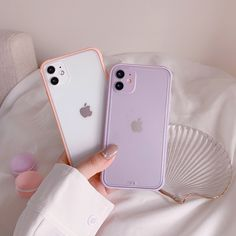 Simple Solid Color Korean Phone Case For iPhone Iphone 8, Apple Iphone, Coque Iphone, Iphone Phone Cases, Iphone Case Covers, Iphone Headset, Tumblr Iphone, Cellphone Case, Iphone 11 Pro Case