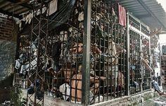 Una prison de El Salvador con sobrecupo, más de 30.000 prisioneros en 9 cárceles