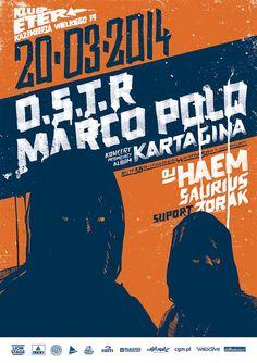 O.S.T.R & MARCOPOLO - W Klubie Eter - 20.03.2014