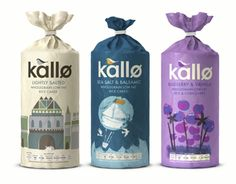 Kallo make delicious, natural, healthy alternatives to things like cakes, biscuits, bread and even stock cubes. They just had one problem – their packaging was rather cold and lacked any emotion whatsoever and didn't reflect their true identity.We carri…