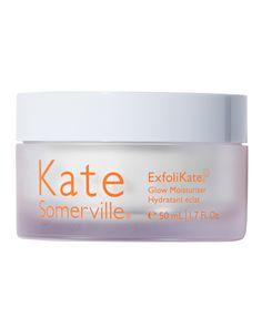 Kate Somerville | ExfoliKate Glow Moisturizer Alpha Hydroxy Acid, Lactic Acid, Uneven Skin Tone, Perfect Skin, Moisturiser, Your Skin, Glow, Skin Care, Cosmetics