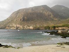 Petite plage à Tarrafal - Santiago - Cap vert