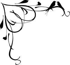 birds heart filigree tattoo