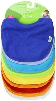 Green Sprouts Waterproof Absorbent Terry Bibs, Boys, 10 Count GREEN SPROUTS http://www.amazon.com/dp/B000CP2X9O/ref=cm_sw_r_pi_dp_9HfOub1VW1DAV