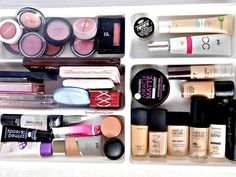 What's In My Ikea Malm Dressing Table | Makeup Storage Idea's